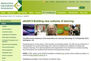 ALT-C 2013