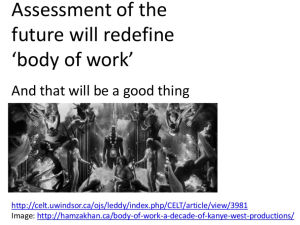 assessment of the future