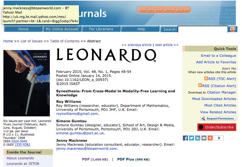Journal Article & Publication?